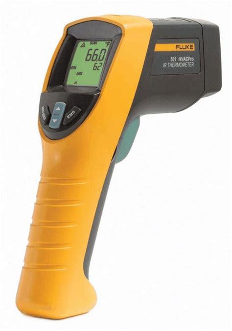 Thermometer Infrared Fluke fluke 561 infrared thermometer hvac pro model from cole parmer