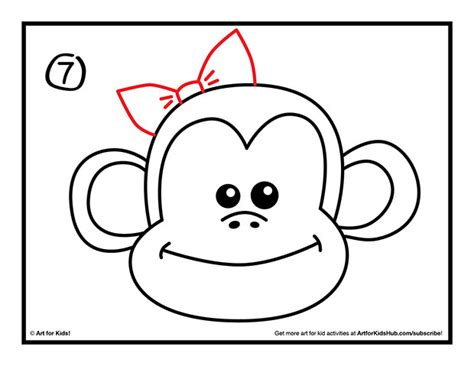 how to draw a doodle monkey free monkey drawing free clip free
