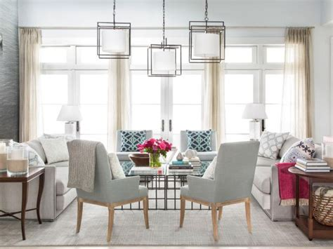 show me some new modern patterns for furniture upholstery a look at hgtv dream home 2016 s living room hgtv dream