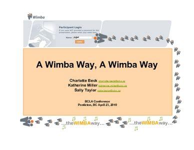 Wi Mba by A Wimba Way A Wimba Way E Lis Repository