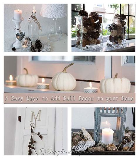 how to decorate your home for fall my love of style my 5 easy ways to add fall decor to your home new babies