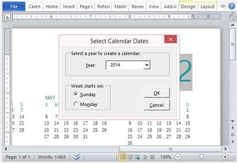 calendar design ms word how to easily create a family photo calendar in microsoft word