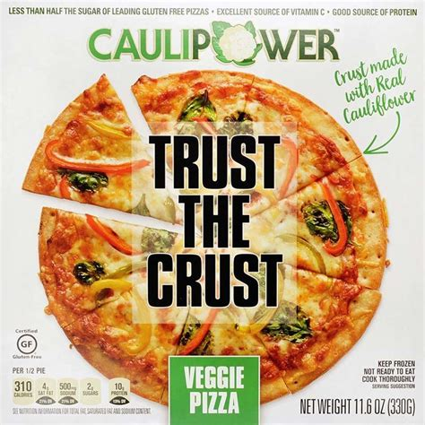 The Garage Nutrition Win A Free Year Of Caulipower Pizza Akron Ohio