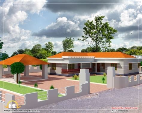 modern house plans 2012 stunning march 2012 kerala home design and floor plans 1500sqft single storey indian