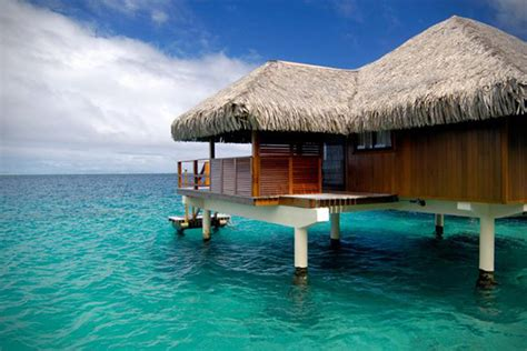 overwater bungalows cook islands 12 best overwater bungalow vacation spots hiconsumption