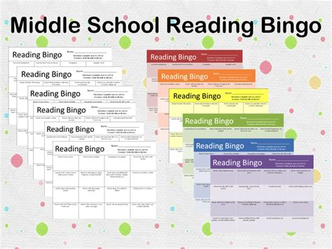 printable reading games for middle school printable reading activities for middle school teacher