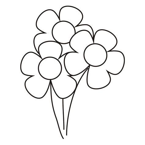 imagenes y fotos dibujos de flores para colorear parte 2 moldes de flores para colorear