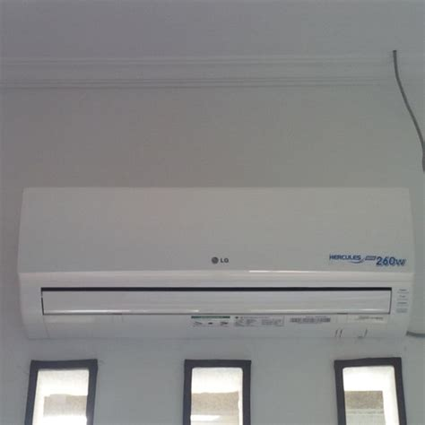 Ac Lg Hercules Ultima cv sericsen perdana air conditioner specialist bandung
