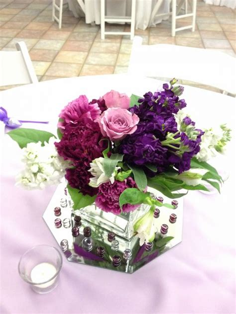 one centerpieces i made for my friend weddingbee photo