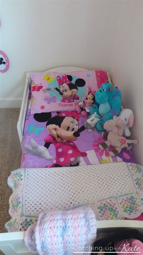 minnie mouse toddler room minnie mouse room diy decor highlights along the way