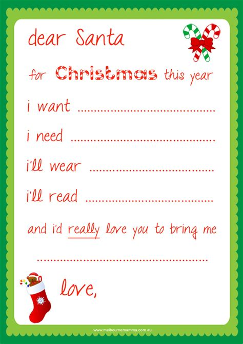 i need a up letter luxury dear santa letter template free how to format a
