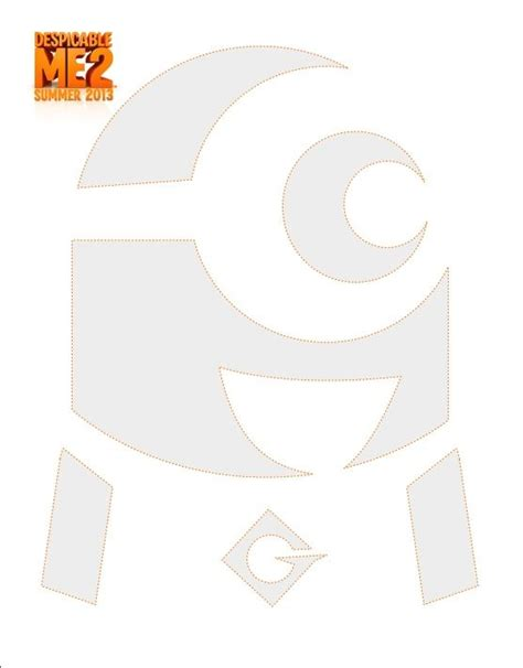 minion pumpkin stencil 2 art stencils drawings pinterest