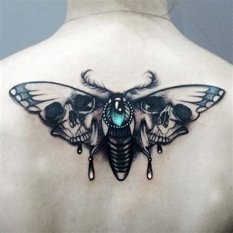 death head moth tattoo 85 wondrous moth ideas that fits your