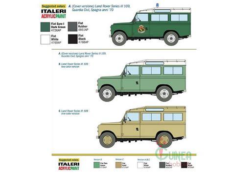 land rover italeri italeri 6542 1 35 spanish land rover series iii 109