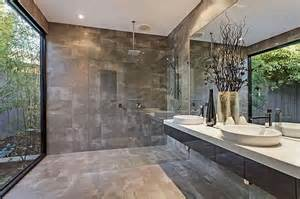 ultra modern bathroom design with garden decoist