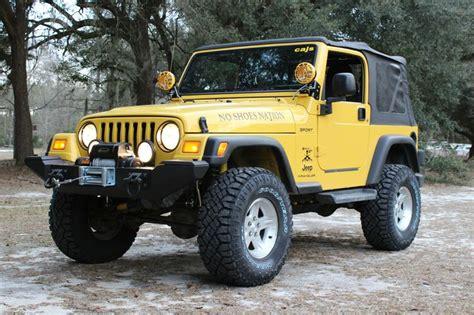 shoes nation jeep build trevor king  tj wrangler
