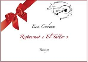 id馥s cadeaux cuisine id 233 e cadeau restaurant el taller bistrot de pays prades