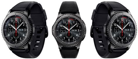 samsung frontier s3 samsung pulls back the curtain on two new wearables gear s3 classic and frontier