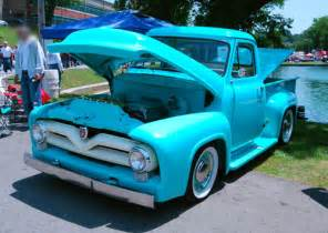 55 Ford Truck 1955 Ford Truck Grill