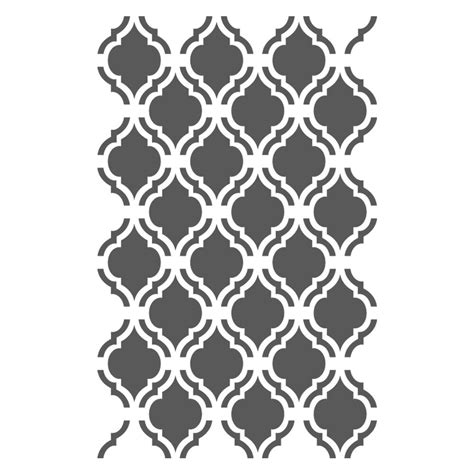 moroccan stencils template small scale  crafting