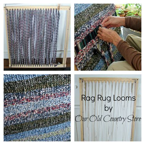 rag rug weaving looms for sale our country store interchangeable rag rug looms lower shipping and handling rates and a
