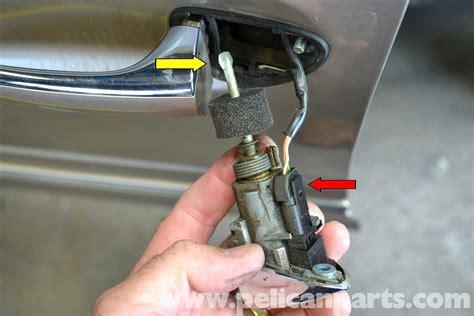 how to remove front door handle mercedes w203 front door handle removal 2001 2007