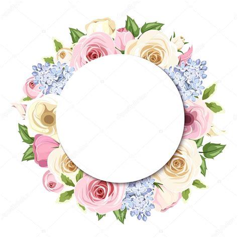 imagenes de rosas vectorizadas fondo con flores lilas lisianthus y rosas color rosa