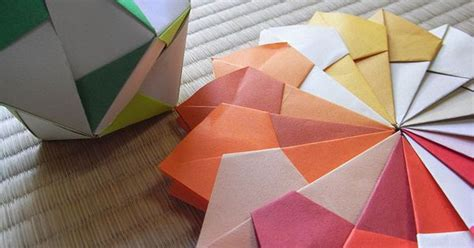 Origami Encyclopedia - how to make origami balls step by step guide