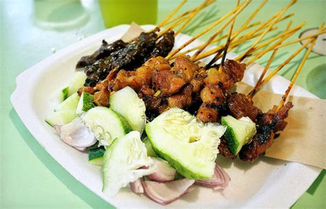 new year traditional food singapore the 5 best satay in singapore thebestsingapore