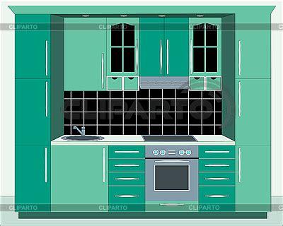 küchenmöbel bilder k 195 188 chenm 195 182 bel stock fotos und vektorgrafiken cliparto