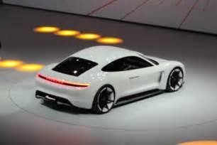 Porsche Concept Porsche Mission E Electric Sedan Concept 310 Mile Range