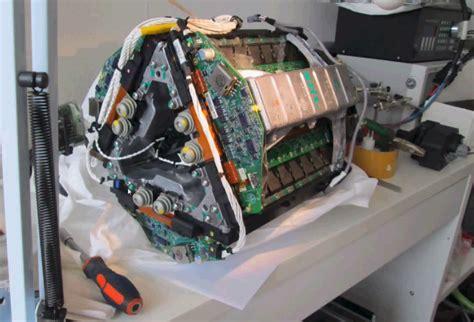 tesla inside engine tesla model s electric motor gets hacked