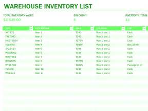 inventory spreadsheet template for excel warehouse inventory excel spreadsheet sle