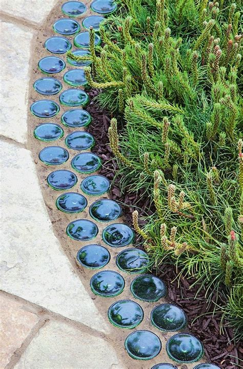 Garden Decoration Ideas From Waste Material by 12 Ideas For Cheap And Simple Garden Decorations