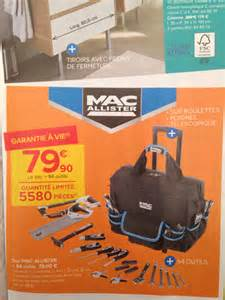 sac trolley porte outils 94 outils mac allister 224 79 9