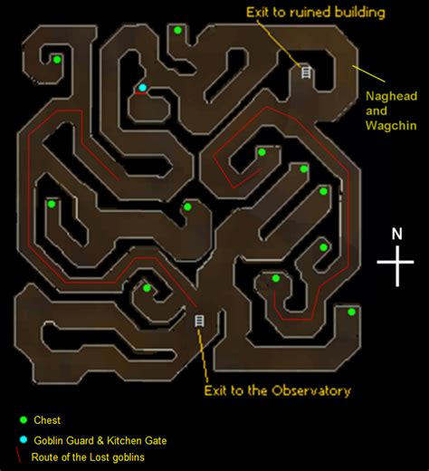 observatory dungeon map observatory 2007scape wiki wikia
