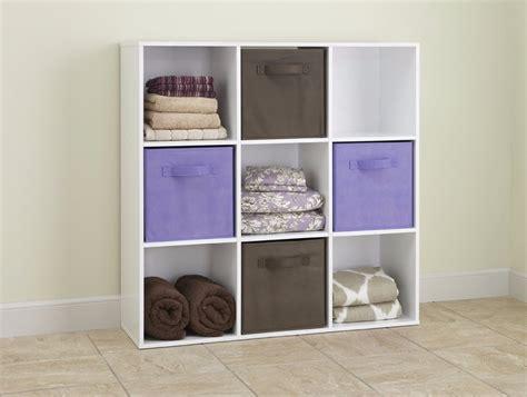 librero organizador mueble librero organizador maid 9 cubos color negro y