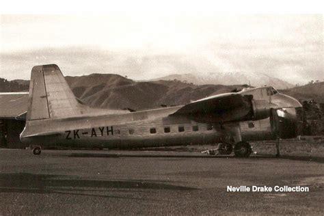 nz civil aircraft bristol freighter memories