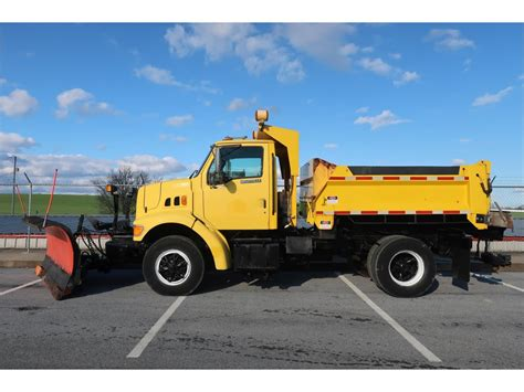 truck pa ford plow trucks spreader trucks for sale used trucks on