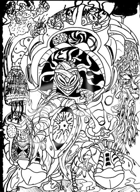 trippy pictures color free coloring pages art coloring pages