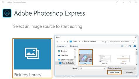 tutorial adobe photoshop express como usar o photoshop express gr 225 tis para editar fotos no