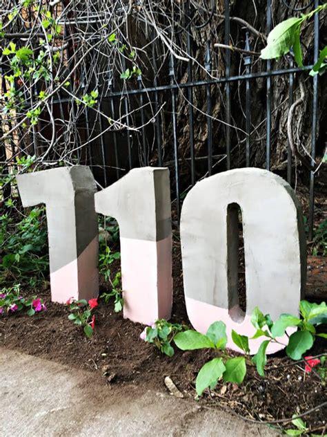 Rumah Angka Besar inspirasi desain unik nomor rumah rumah dan gaya hidup