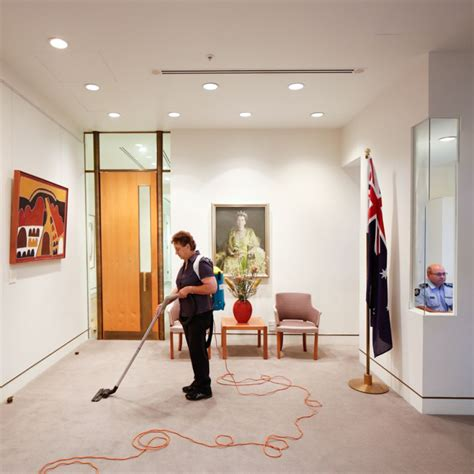 Office Of Prime Minister by Cleaner And Australian Federal Officer Prime