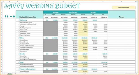 Wedding Budget Spreadsheet The Knot by Sle Wedding Budget Spreadsheet Haisume