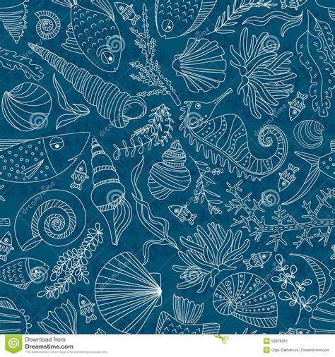ocean pattern vector ocean pattern stock vector image 50878351