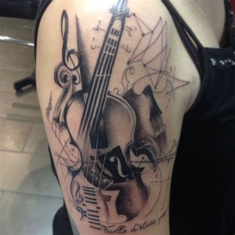 violin tattoo violin tattoos and piercings