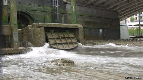 thames river sewage london s super sewer gets the go ahead bbc news