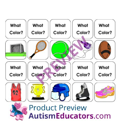 color for autism make a sentence about quot colors in sports quot for autism