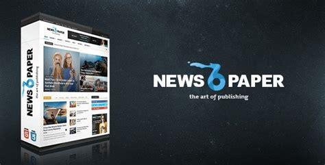 newspaper theme html tải theme newspaper theme cực đẹp cho trang tin tức
