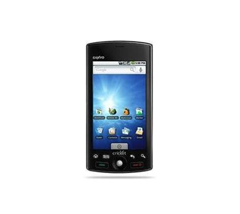cricket android phones sanyo zio android smartphone for cricket wireless black condition used cell phones